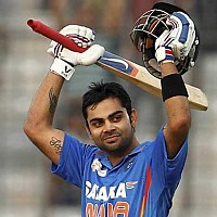 Virat Kohli made fastest century in 52 balls for India in Jaipur