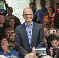 Satya Nadella CEO of Microsoft Corporation USA