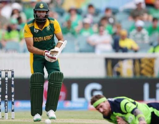 ICC WC 2015: SA win by 201 runs, Amla-Du Plasis hit Century